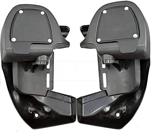 For Harley Touring Road King 1983 to 2013 Road Glide 83-13 FLHR FLTR Motorcycle Vented Fairing Lower Kit Leg Fairing Glove Box