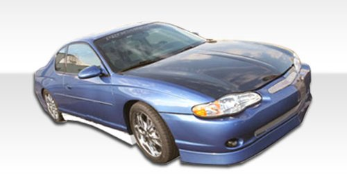 2000-2005 Chevrolet Monte Carlo Duraflex F-1 Kit-Includes F-1 Front Bumper (100011), F-1 Rear Bumper (100012), and F-1 Sideskirts (100013). - Duraflex Body Kits
