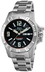 Ball Men's DM2036A-SCAJ-BK Spacemaster Black Day Date Dial Watch