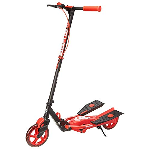 Yvolution Y Flyer Scooter, Red, One Size