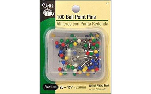 - Dritz(R) Ball Point Pins
