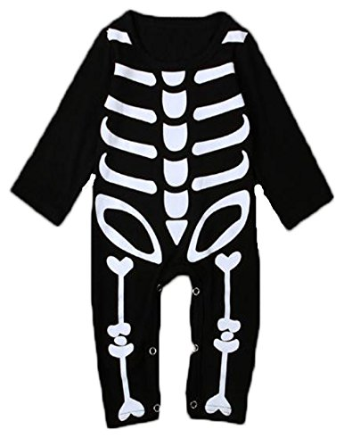 3-4 Month Old Halloween Costumes (Boys and Girls Halloween Costume Baby conjoined clothes)