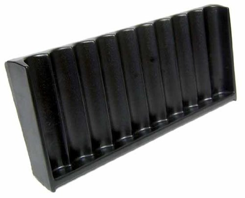 ABS Black Craps Chip Tray (10 Tube / 500 Chip) by CCS