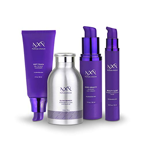 41osxOFY AL - NxN Total Moisture 4-Step Anti-Aging & Dry Skin Treatment System, With Coconut, Coffee, Green Tea, Licorice Root, Sea Buckthorn Oil, Squalane, Blueberry & Grape Seed Extract