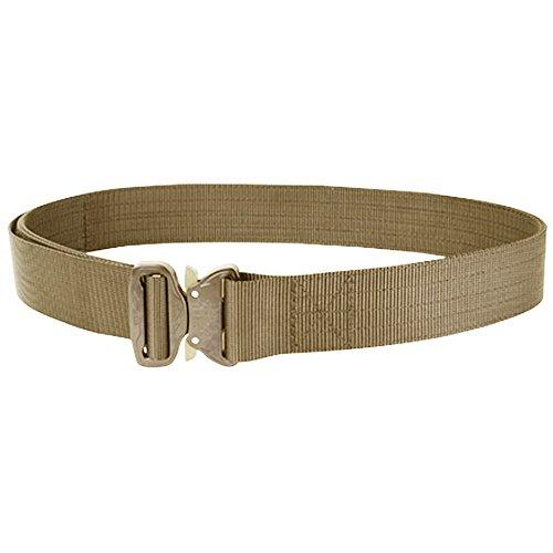 CONDOR US1078-003-M Cobra Tactical Belt M Tan (Tan Cobra Buckle Belt)