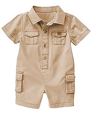 Baby Boys' Safari Romper,3-6 months
