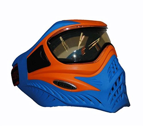 V-FORCE Grill Paintball Mask / Goggle - SE - Orange on Blue