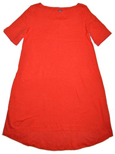 GAP Maternity Red Assymetrical Hem T-Shirt Dress Medium - Gap Red T-shirt