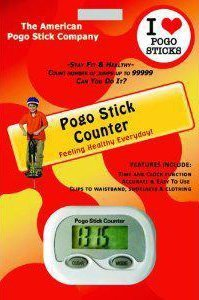 Advanced Pogo Stick Jump Counter Pedometer. Counts Jumps Up To 99,999 by American Pogo Stick Co.