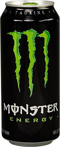 Monster Energy, Original, 16 Ounce (Pack of 24)