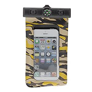 DUR IPX 8 Waterproof Pouch Case Bag with Strap for iPhone 5