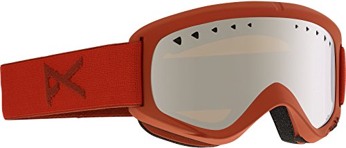 Anon Helix Goggle Scorch / Silver Amber + Spare Lens - Anon Helix Goggles