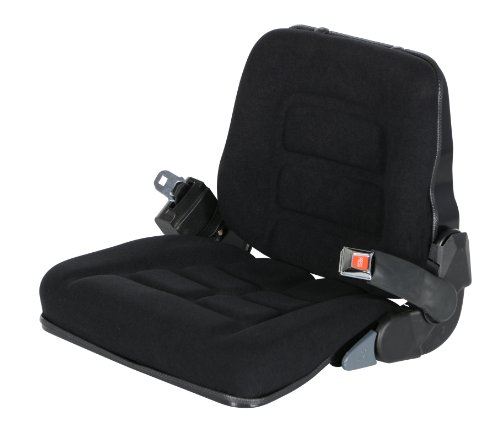 - Vestil LTS-C Cloth Fork Truck Seat with Seat Belt