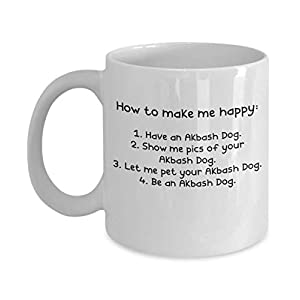 Akbash Dog Gifts - Gift Mug - White 11oz 15oz Ceramic Tea Coffee Cup - Perfect For Travel And Gifts 12