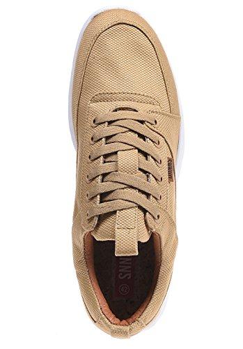 Djinns Hombres Calzado / Zapatillas de deporte Forlow Light beis