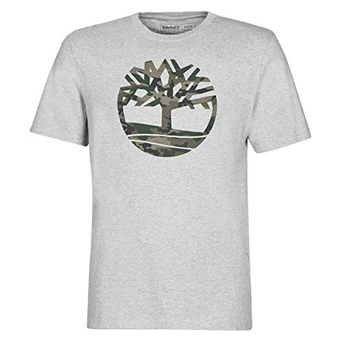 TIMBERLAND SS K-R CAMO TREE T MED GRY