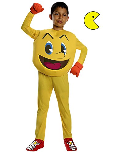 Costumes Popular Game Video (Pac Man Video Game Child Video Game)