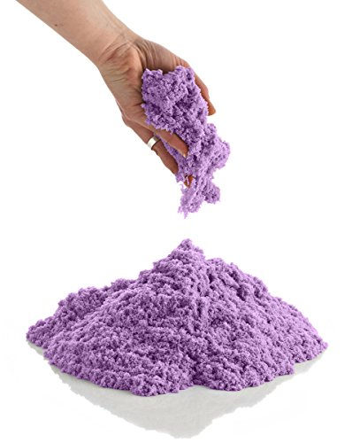 CoolSand Purple 14 Ounce Refill Pack - Moldable Indoor Play Sand in Resealable Bag
