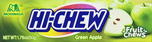 Morinaga Hi-Chew Green Apple Fruit Chews, 1.76-Ounce Packages (Pack of -
