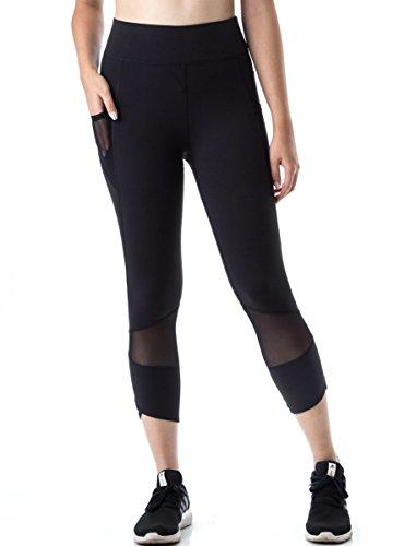 FIGUR Activ Women's Sport Capri 7/8 Leggings For Yoga, Running, Fitness & Everyday Wear
