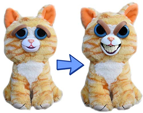 Feisty Pets Expressions Sly Princess Pottymouth the Cat Grins from Ear to -
