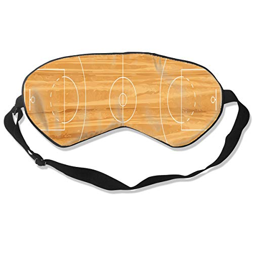 Eye Mask Basketball Court New Unique Eyeshade Sleep Mask Soft for Sleeping Travel for Unisex - Basketball New 07