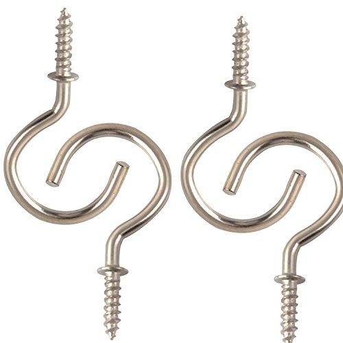 1 2 inch brass cup hooks - 7