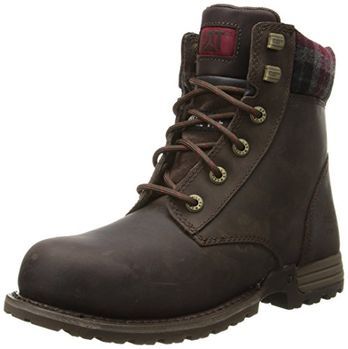 Caterpillar Women's Kenzie Steel Toe Work Boot, Bark, 9 M US by Caterpillar (Image #1)