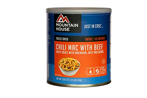 Mountain House Chili Mac with Beef #10 - Chili House Mountain