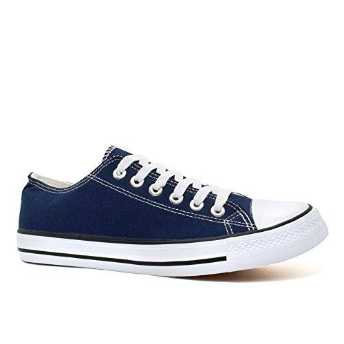 Footwear Tops Navy Herren London Low Sneaker dRCwnx