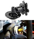 Leadrise Black Steering Wheel Quick Release Hub