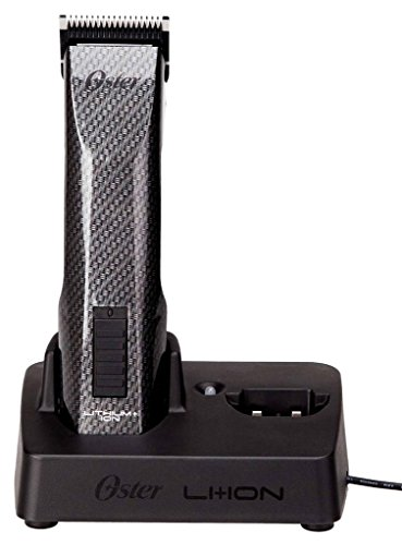 Oster CORDLESS Hair Clippers with Li+ION Battery and All NEW Fade Free Power and Dual Battery Charging Base by Oster