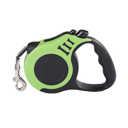MJK Guía de entrenamiento, correa de perro duradera Cable de nylon ...