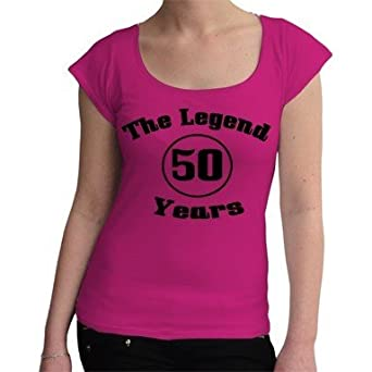 The Legend 50 Years FUN Camiseta de 50 años, con mensaje ...