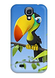 Galaxy S4 Case Slim [ultra Fit] Funny Pelican Protective Case Cover 6743142K86434230