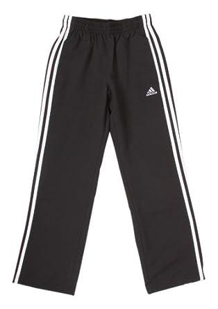 078f63fae adidas Ess 3s Woven Pant Open Hem Kids Climalite Trousers Pants ...
