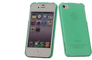 Nevox 1058 - Carcasa dura para Apple iPhone 4/4S, verde