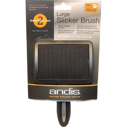 Andis Premium Firm Slicker Brush, Pet Grooming (80585)