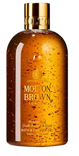 Gold Accord (Exclusive New Molton Brown Mesmerising Oudh Accord & Gold Bath & Shower Gel, 300ml (SOLD BY PENTA0601))