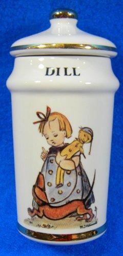 Dill Hummel Spice Jar Danbury Mint 1987 (Hummel Mint)
