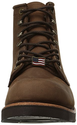 Chippewa Mens 6 Robusta Handgjorda Spets-up Boot Choklad Apache