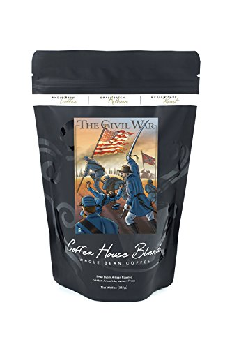 Price comparison product image American Civil War - Union Soldiers Advance (8oz Whole Bean Small Batch Artisan Coffee - Bold & Strong Medium Dark Roast w/ Artwork)