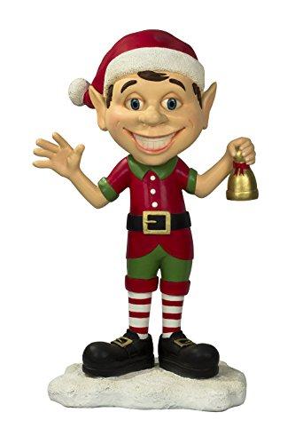 Queens of Christmas WL-ELF-BOY Decorative Elf Family Son Figurine -