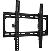 LCD LED Plasma Flat Screen TVs Wall Mount Tilting Bracket, Kasonic TV Wall Mount with Adjustable Angle for 26-55 Inches Flat Screen TVs with Load Capacity Up to 110 LBS