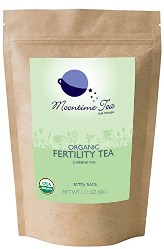 Organic Fertility Tea, 30 Teabags, 2.12 oz (Best Time Of Day To Take Ovulation Test)