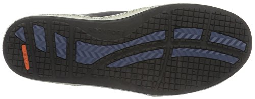 Rockport Jetty Point Mid Cut, Botines para Hombre Azul Marino