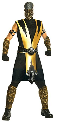 Ultimate Halloween Costume UHC Men's TV & Movie Characters Scorpion Theme Party Fancy Costume, One Size