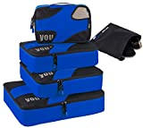 Trumy 5 set Lightweight Packing Cubes (Dark Blue)