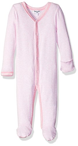 - Splendid Baby Girls' Romper Jumpsuit One-Piece Coverall, Light Pink Heather 3/6 Months