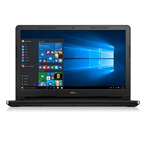 Dell Inspiron 15.6-Inches Premium High Performance HD LED-Backlit Laptop (Intel Pentium Quad-Core Processor up to 2.4GHz, 4GB RAM, 500GB HDD, Webcam, WiFi, HDMI, DVDRW, Bluetooth, Windows 10), Black
